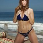 Leanna Decker nude at the Beach 1