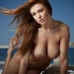 Leanna Decker nude at the Beach 10