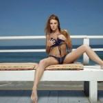 Leanna Decker nude at the Beach 2