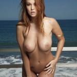 Leanna Decker nude at the Beach 5