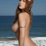 Leanna Decker nude at the Beach 6