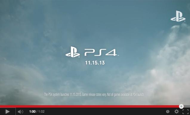 Se acerca el estreno de PlayStation 4