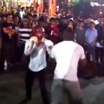 Ex-boxeador vs turista
