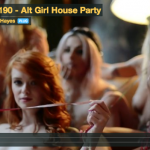 Girl house party